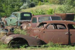 Oil Gard Rusted Cars